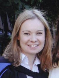 2011 Dr Victoria Hickman (nee Cronin)