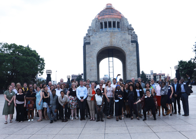 Attendees of the Royal Academy Of Engineering Frontiers of Development Workshop, Mexico City, May2019