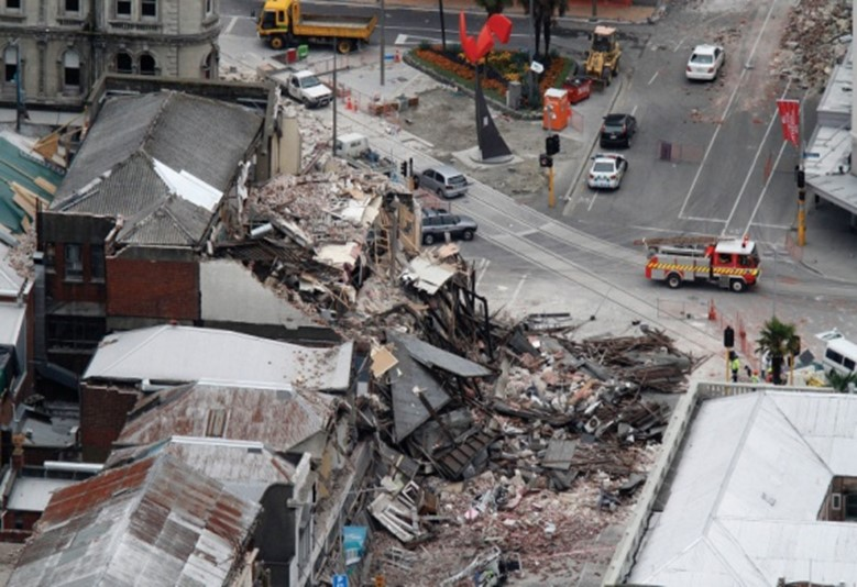 Christchurch earthquake damage 2010-11