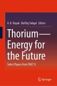 Thorium Energy for the Future book cover