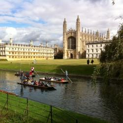 Iamge of Kings' College from the Backs