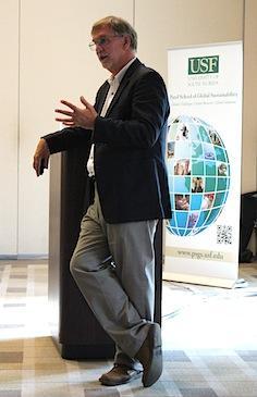 Dr Fenner Distinguished Lecturer at University of South Florida