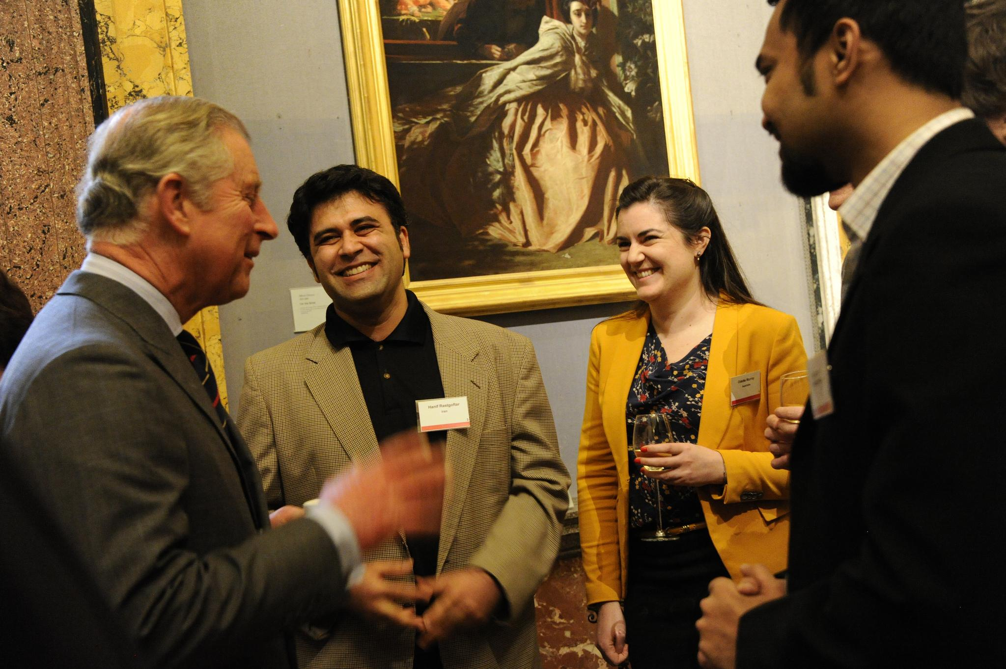 HRH The Prince of Wales at Cambridge Trusts Scholar's Reception